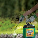 Roundup pump and go weed killer spray