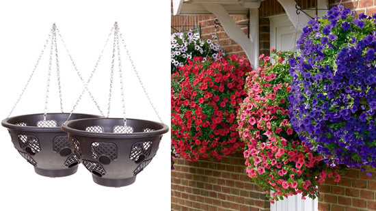 Easy-Fill' Hanging Baskets