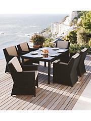 Royale Table and 6 Chairs Garden Furniture Set
