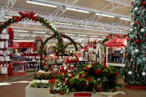 Christmas department opens at Haskins Garden Centres